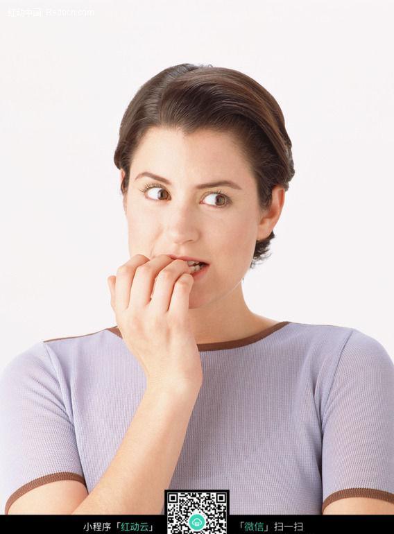 关键词:美女神态咬手指面部表情美女图片女人