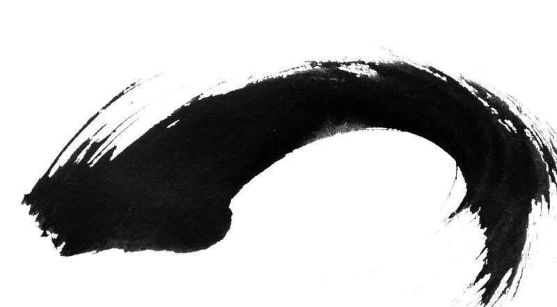 韩国笔刷_韩国黑白水墨笔刷031ps水墨笔刷素材ps水彩