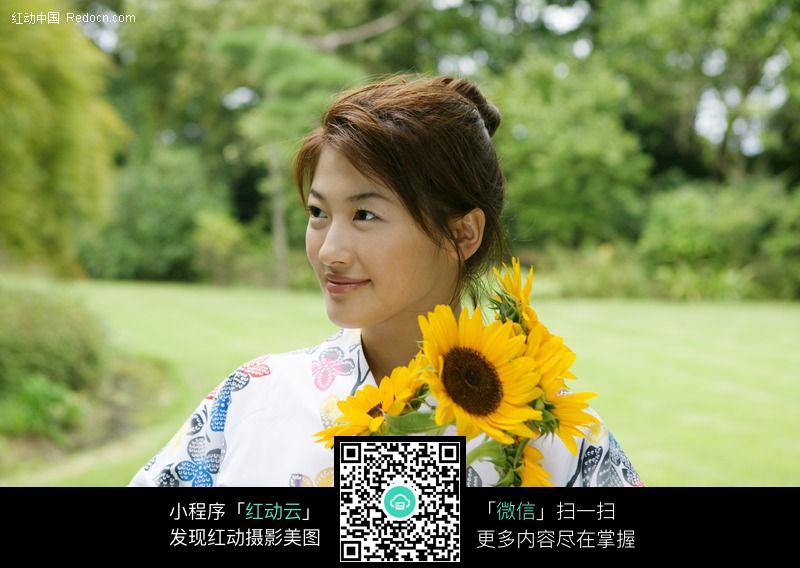 穿和服的日本女人65A图片编号:47981 女性