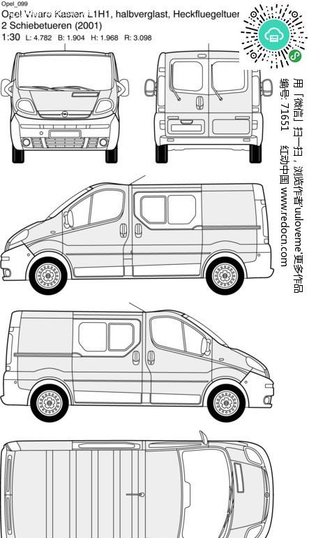 opel欧宝汽车99矢量图 编号 71651 交通工具 现代科技 矢量素材高清图片