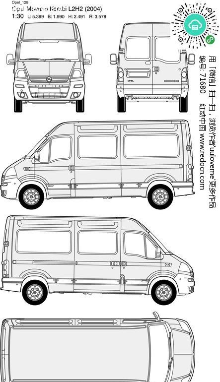 opel欧宝汽车128 交通工具 现代科技 矢量素材 红动图爸 设计素材中国高清图片