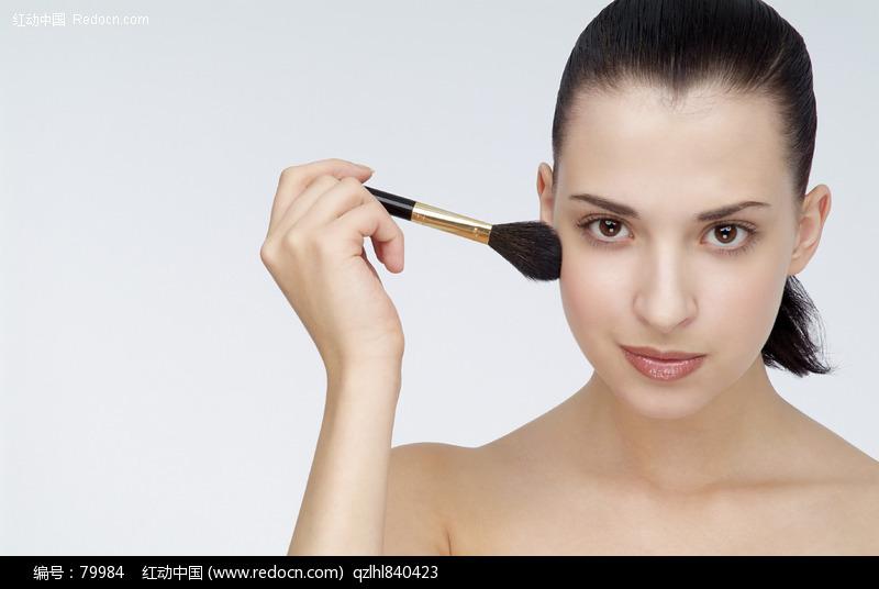 美容产品模特 脸部特写图片编号:79984