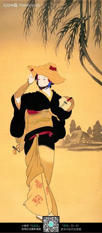 穿和服的日本美女图片编号:84549