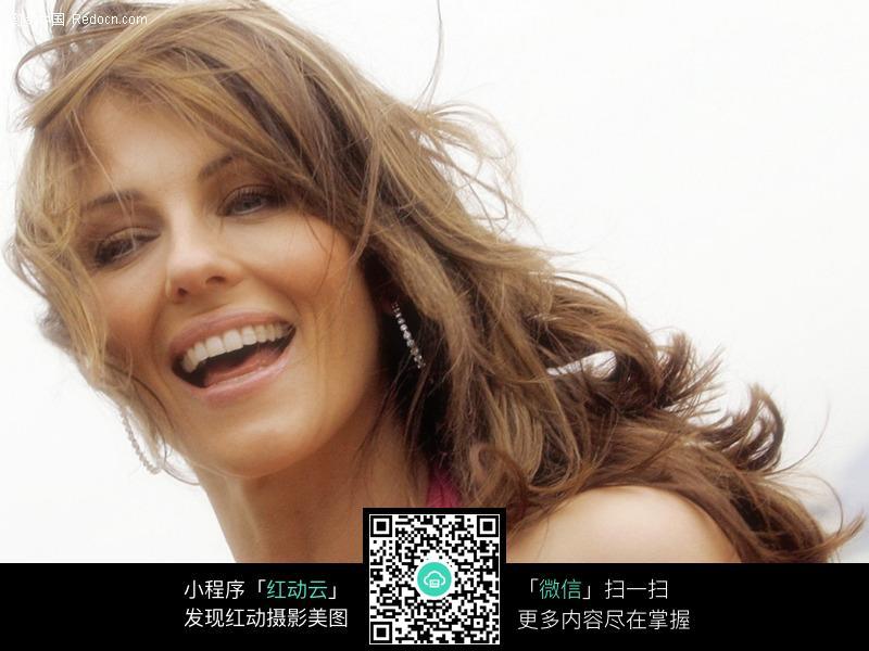 微笑中的美女图片 人物图片素材|图片库|图库下载: