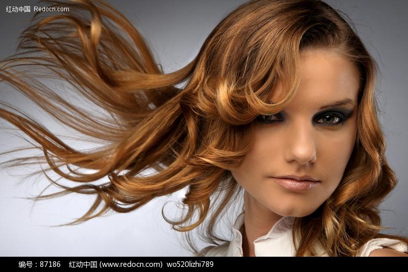 金发美女设计图片