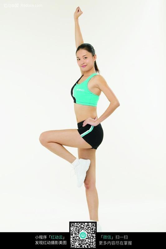 做健身操的美女图片 人物图片素材|图片库|图库下载