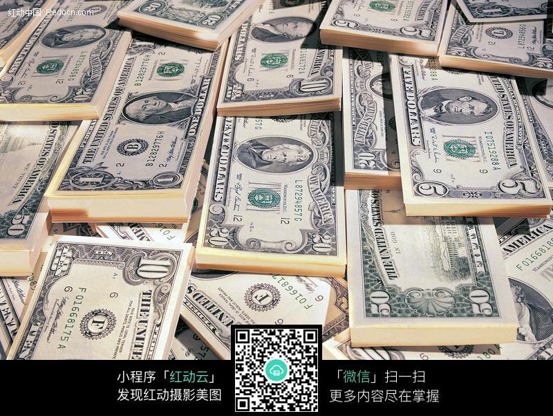 关键词:钱美元纸币货币钱币摄影图片