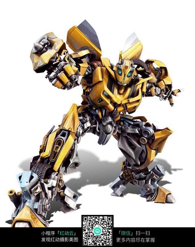 变形金刚汽车人大黄蜂机器人高清图片