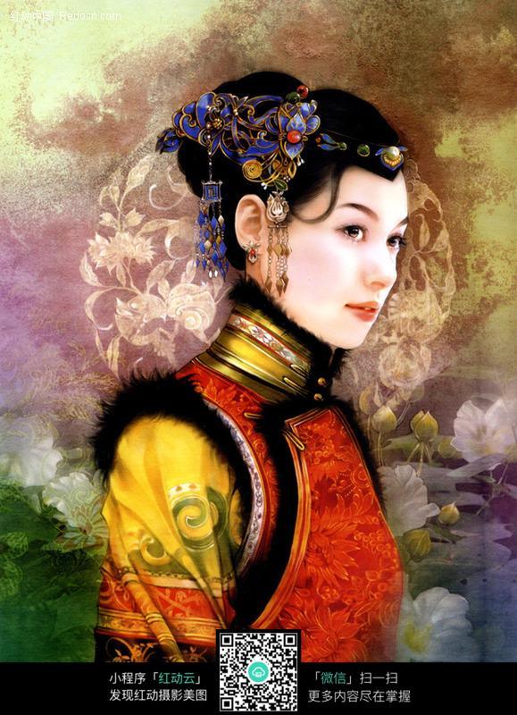宫廷古典美女图片编号:113683