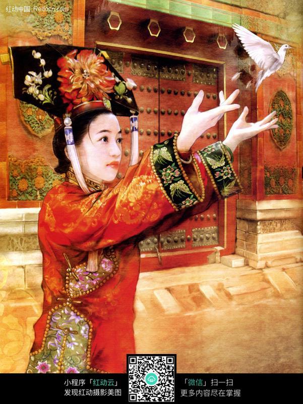 宫廷古典美女图片编号:113679