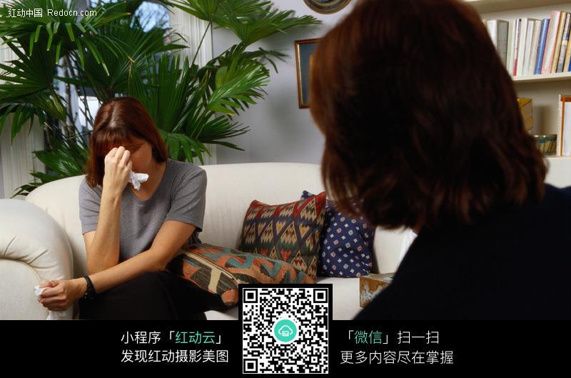 哭泣的外国女人图片 人物图片素材 图片库 图库