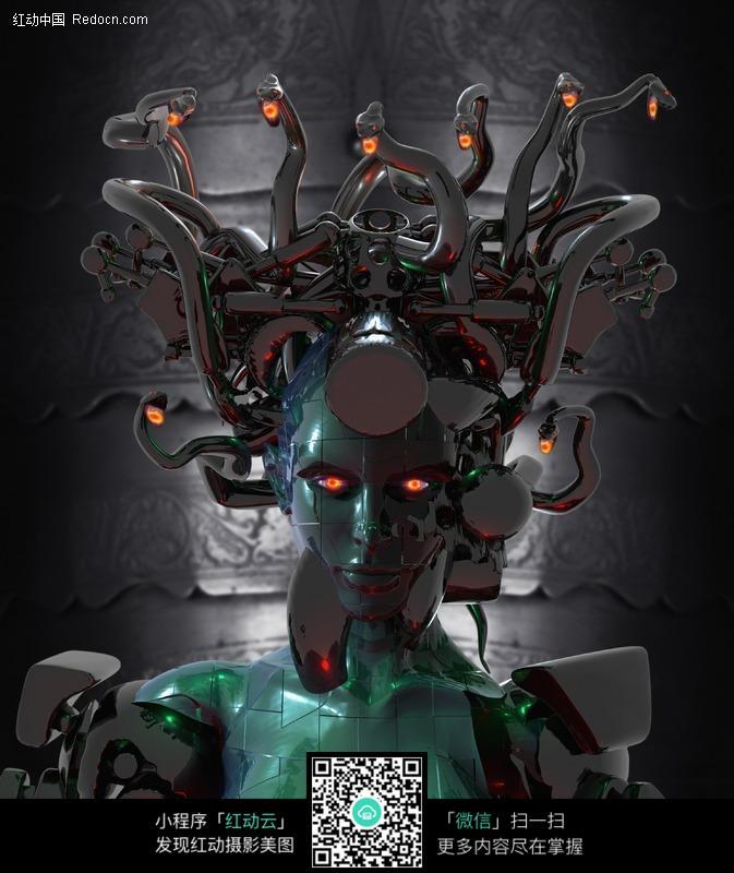 女机器人图片 漫画插画 绘画图片下载 130727