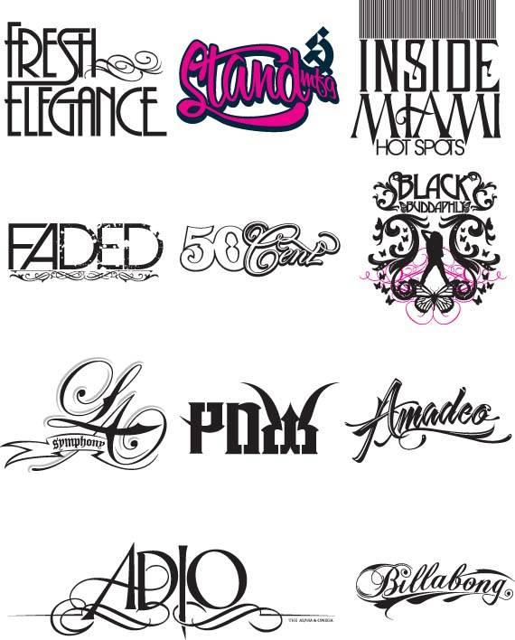 英文<em>个性字体设计</em>艺术字体设计ag亚太|首页下载