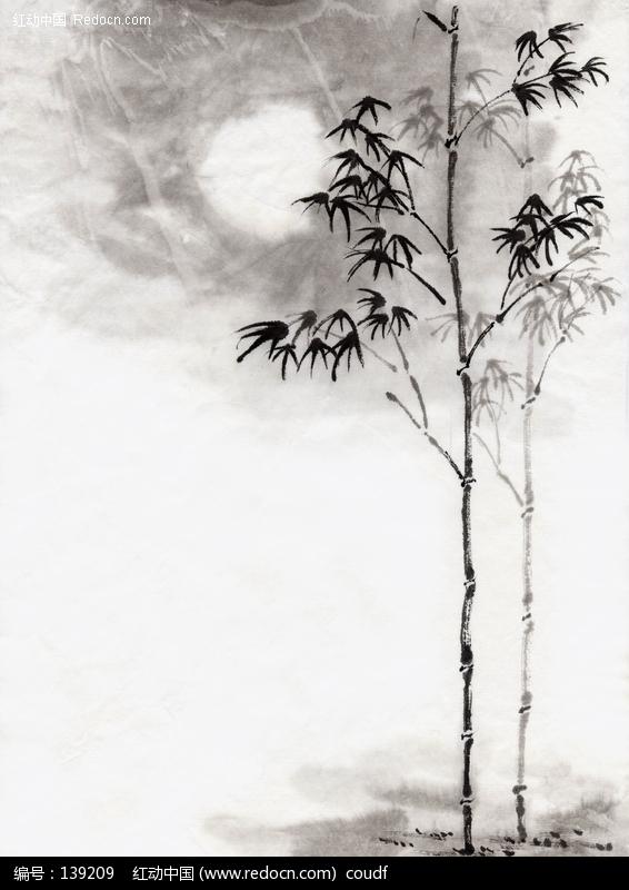 竹子水墨画图片图片(编号:139209)