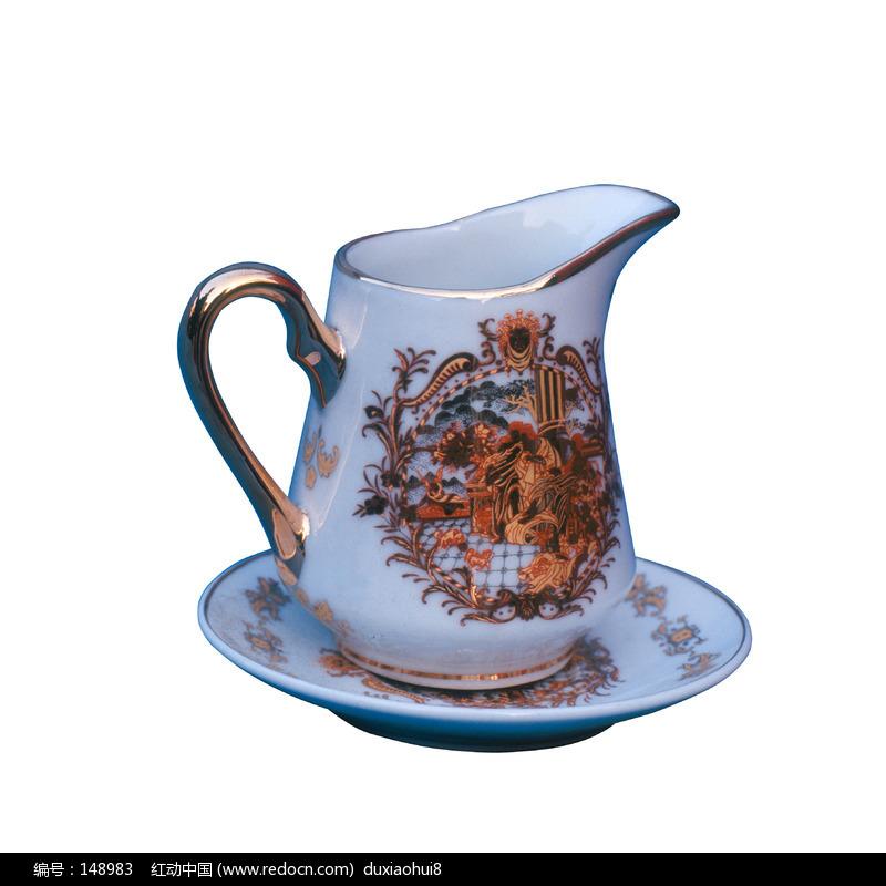 瓷茶壶设计图片