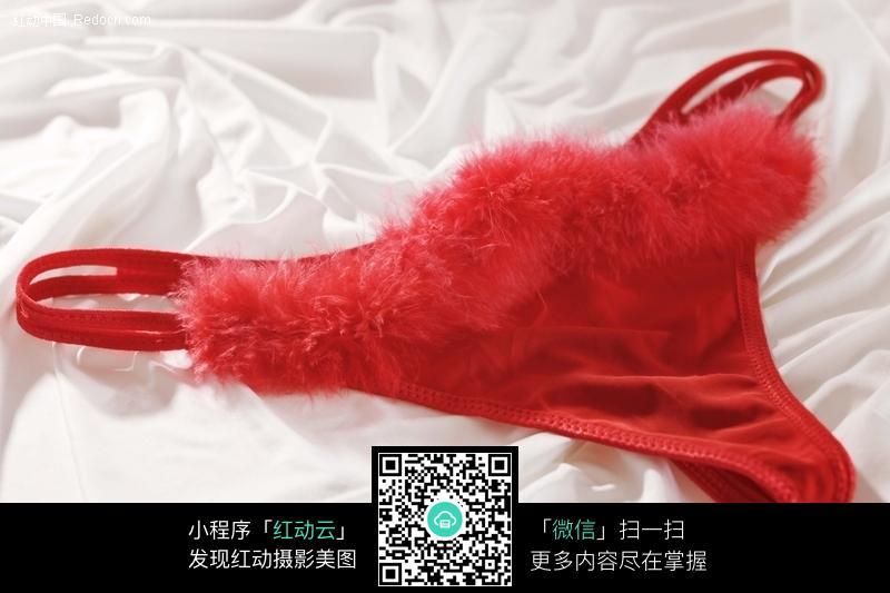 女人性感红色内裤图片图片 生活用品|日常生活