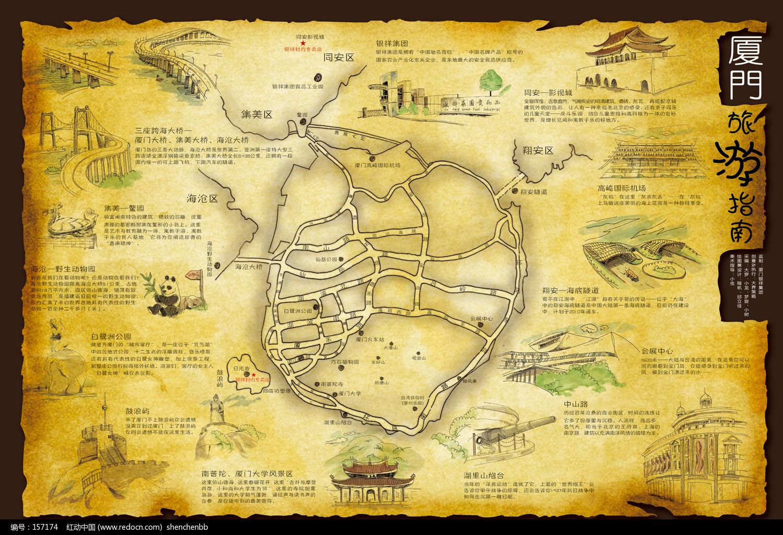 厦门高清手绘地图图片大全_厦门高清手绘地图图片 ...