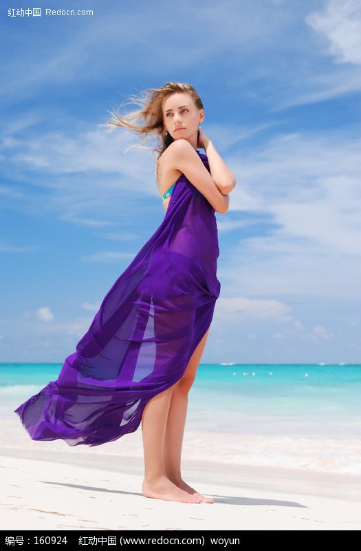 海边长裙美女图片 人物图片素材|图片库|图库下载: