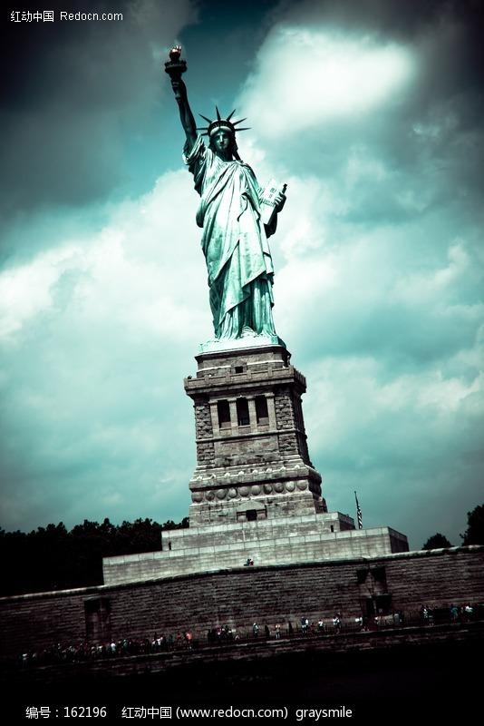美国自由女神像图片 环境图片|图片库|图库下载