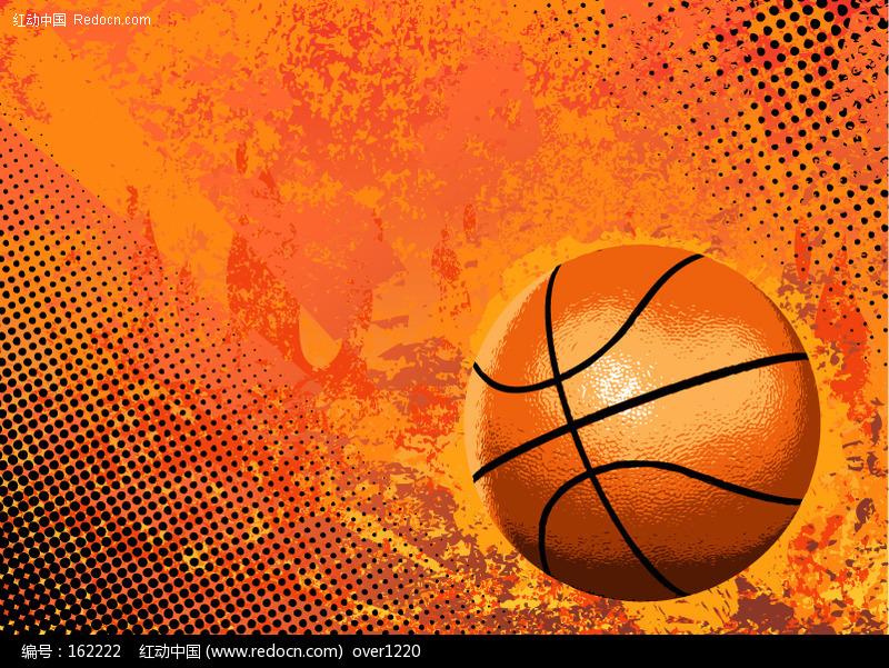 篮球背景_