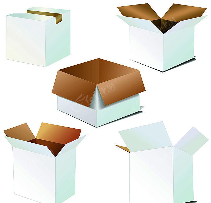 空白包装效果图模板矢量图(编号:173970)