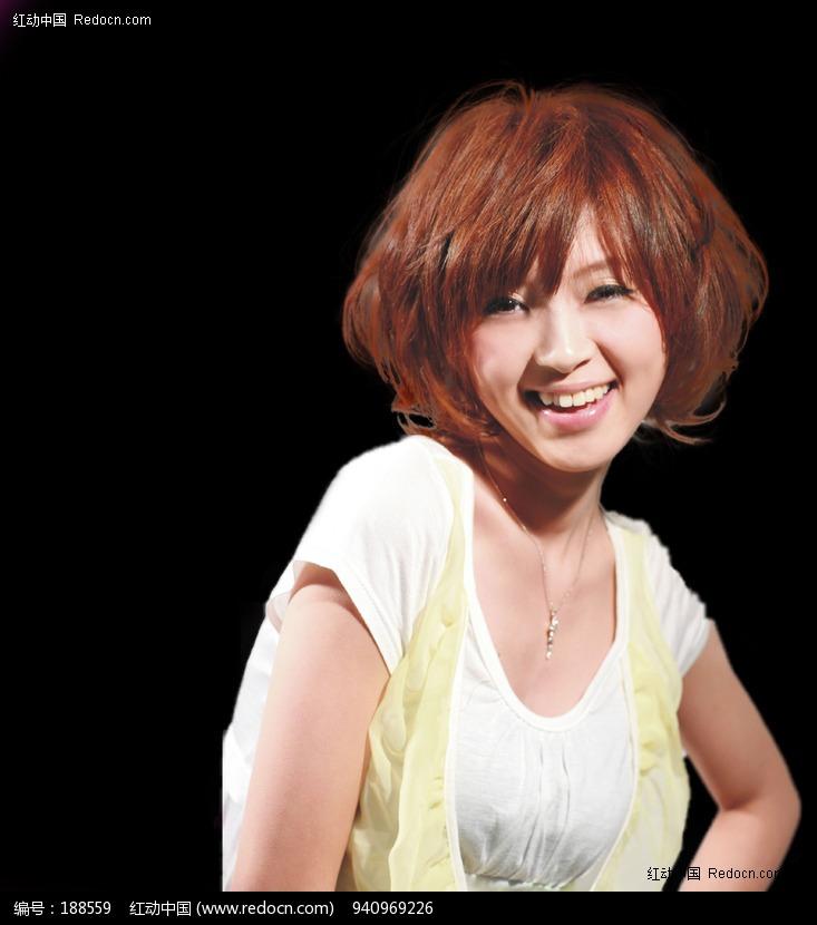 v两个两个发型抠图(编号:188559)_丸子_PSD分人物辫子的美女头可爱扎发图片
