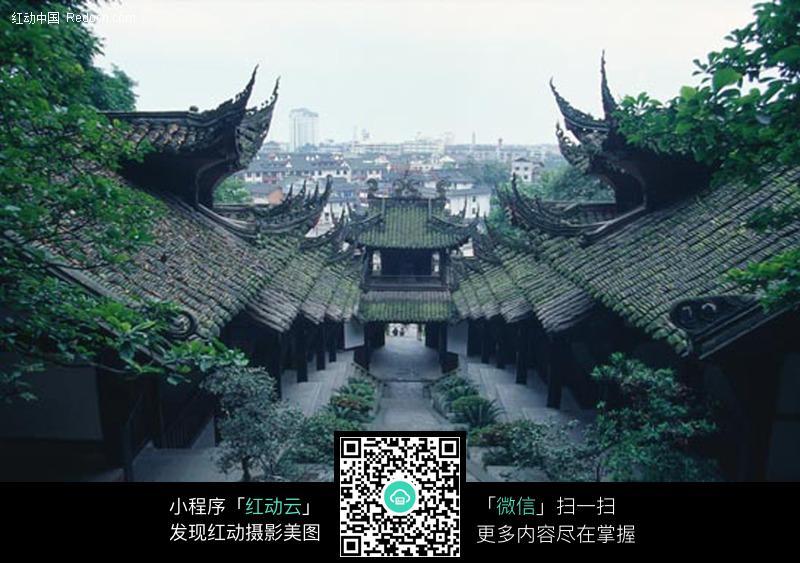 古建筑 雕楼图片 编号 207239 名胜古迹 环境