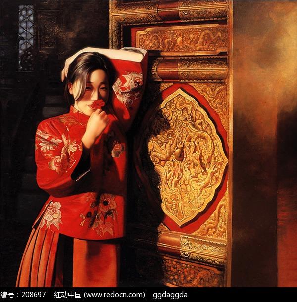 清宫秘史 清代女性绘画欣赏编号:208697