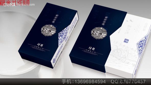 厦门铁观音茶商业包装盒设计欣赏(编号:21342