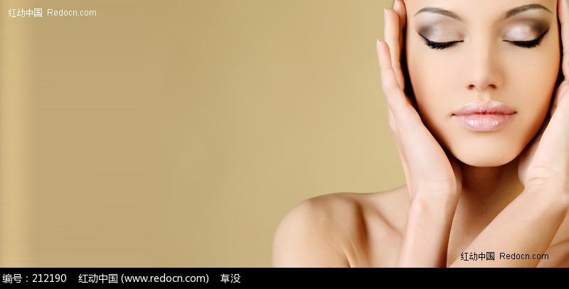 美容广告美女图片 人物图片素材 图片库 图库下载: