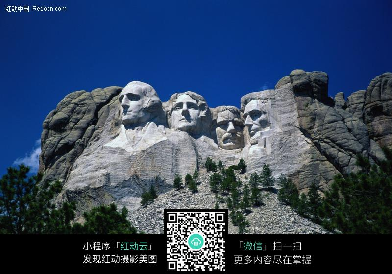 美国四总统雕像图片编号:212941