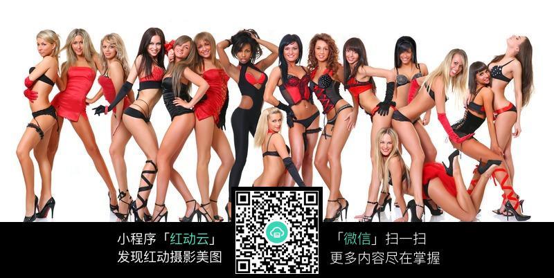 一群穿着性感的外国美女图片编号:229219