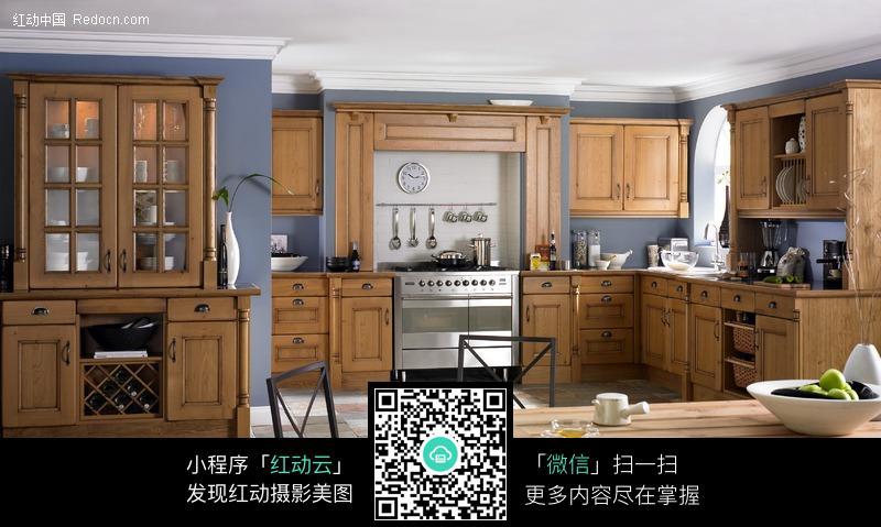 欧式古典风格厨房图片(编号:233741)_室内设计_环境图片