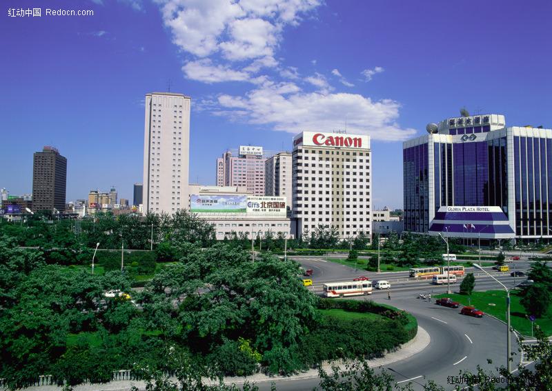 <em>北京</em>凯莱大酒店远景图片-<em>城市风光</em>-环境居住-图