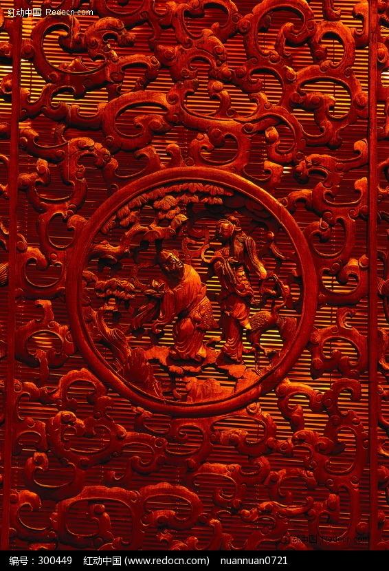 中国古代门窗窗格和木雕窗花 ...