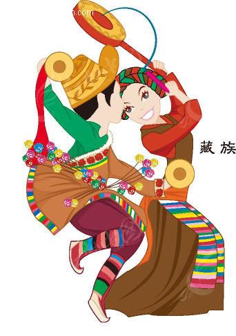 藏族设计图片