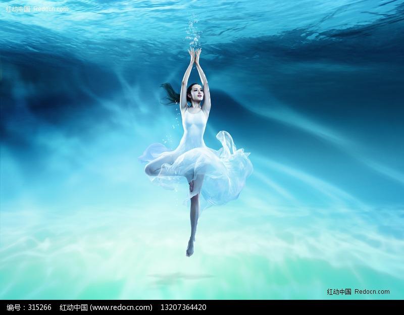 水中动感芭蕾舞美女图片 人物图片素材|图片库|图库
