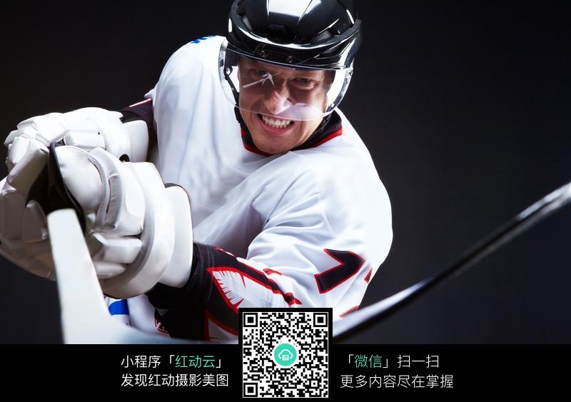 冰球运动员设计图片