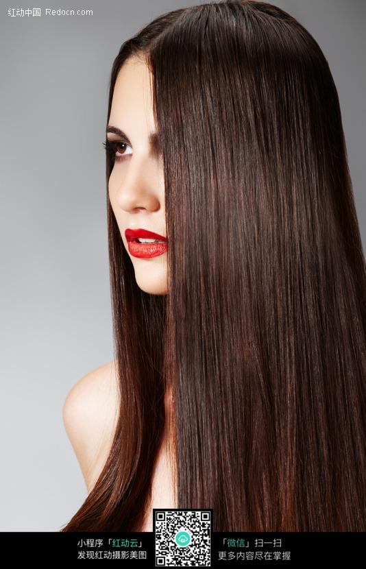 直发发型模特图片编号:339966 女性女人