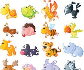 >> 文章内容 >> 卡通动物漫画大全可爱图片  找一些简单的易画的手绘