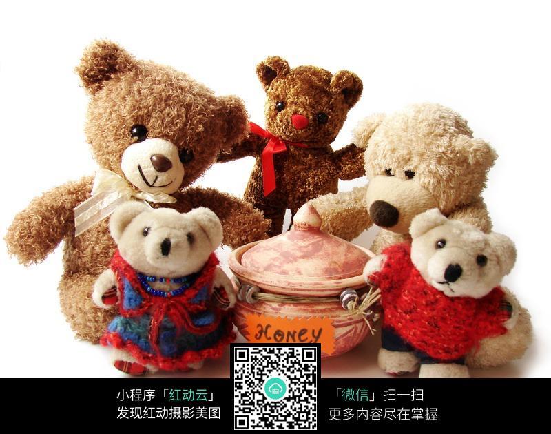 可爱泰迪熊图片_可爱玩具泰迪熊图片素材其他类别生活百科