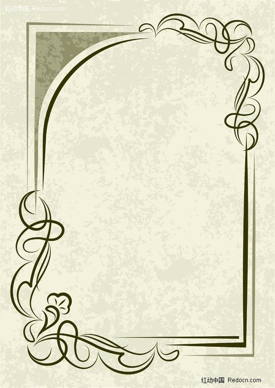 花邊邊框素材簡單花邊邊框素材庫簡單手抄報花邊圖片