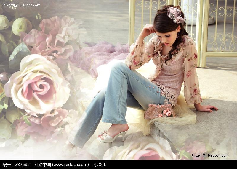欧美美女模特图片编号:387682 女性女人