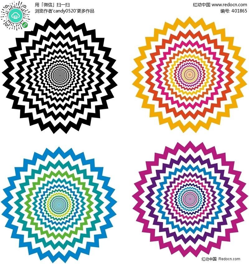 平面构成矛盾图形,平面构成互嵌图形,平面构成渐变图形 图,点构成