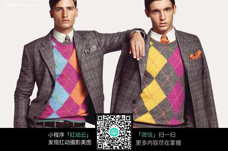 两个欧美西装男图片-人物图片素材|图片库|图库下载
