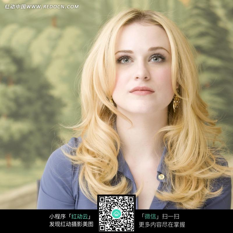 抬头的外国性感美女图片 人物图片素材|图片库|图库