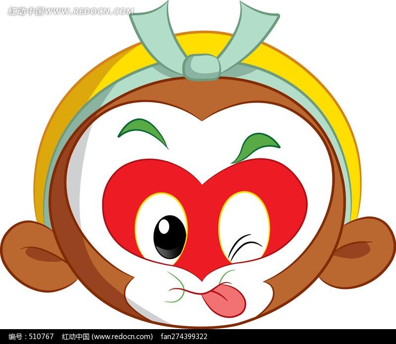 吐舌头图片卡通_吐舌头的小狗卡通图案卡通人物矢量图下载编