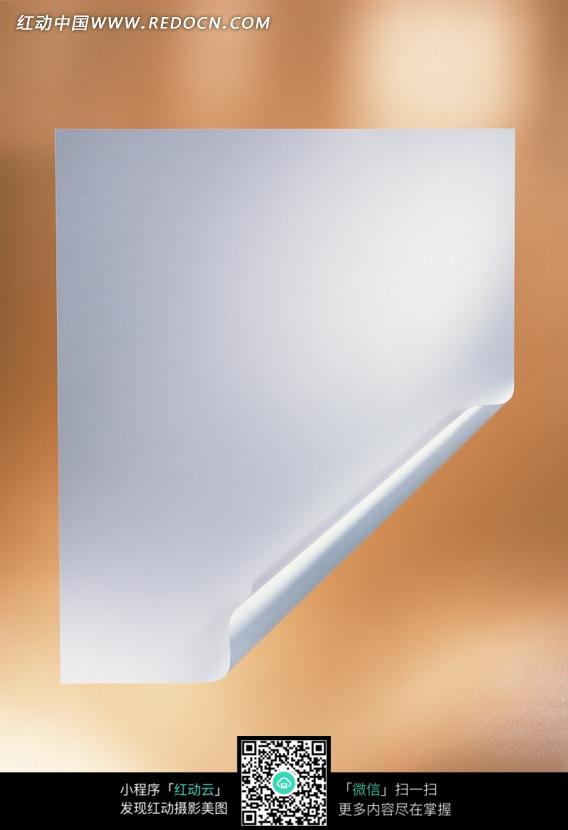 卷起一角的纸张特写图片 555221 办公学习