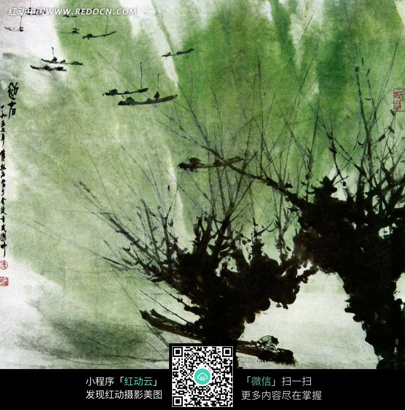 中国古典画作-江南春图片(编号:626195)图片
