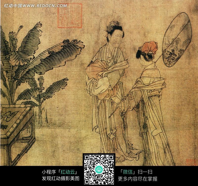 中国古典画作-消夏图图片(编号:626485)图片